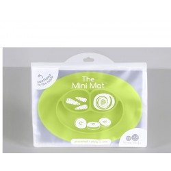Plato-bandeja silicona Mini Mat verde