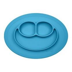 Plato-bandeja silicona Mini Mat azul