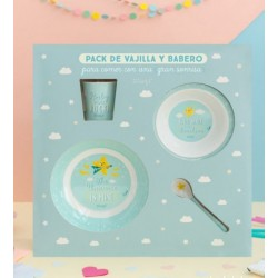 Set vajilla bebé Mr Wonderful by Laken SuperStar