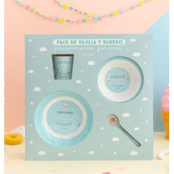 Set vajilla bebé Mr Wonderful by Laken Hasta el Infinito