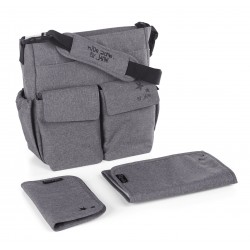Bolso cochecito Jane Mama Bag T34 gris