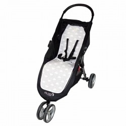 Colchoneta silla Fundas Bcn Baby Jogger City Mini Mr. Wonderful