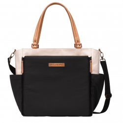 Bolso cochecito Petunia Pickle Bottom City Carryall Birch-black