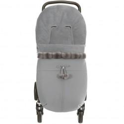 Saco silla universal invierno Uzturre 86 Polipiel gris Vison gris