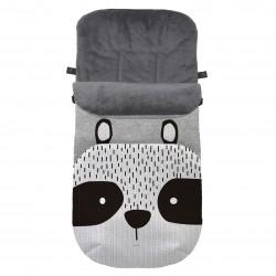 Saco de silla Universal invierno Fuli & C Raccoon silver