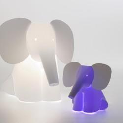 Lampara de compañia de mesa Zzzoolight mini - elefante