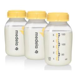 Pack 3 Botellas-biberon Medela 150ml