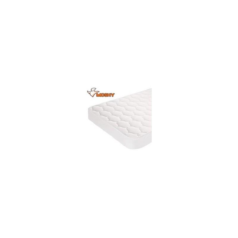 Cubrecolchón Acolchado Impermeable cuna Moshy Turia 60x120
