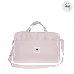 Bolso maternal hospital viaje Cambrass maletin Basic rosa
