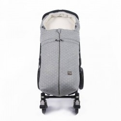 Saco de silla Universal invierno Pasito a Pasito Walking Mum Gaby gris
