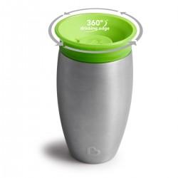 Vaso Antigoteo de acero Munchkin Miracle Verde