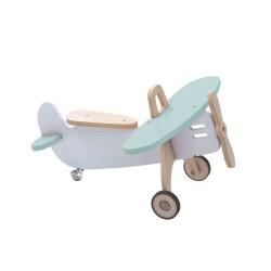 Juguete avion madera Alondra Wind Mint