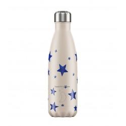 Botella termo Chilly's Emma B. ESTRELLAS AZUL 500