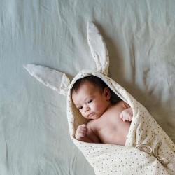 Saco capazo Babyshower Bunny POLKA DOT