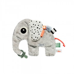 Peluche Cozy friend Elphee grey
