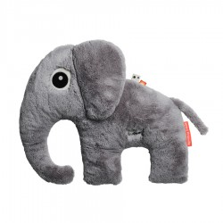 Peluche grande Cuddle Friend Elphee gris