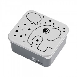 Lunch box Elphee gris
