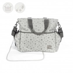 BOLSA CANAST. WALKING INSPIRATION GRIS