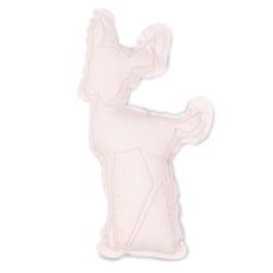 Cojin bonjourbebe Reno rosa