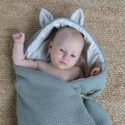 Saco capazo Babyshower ENT. Bambi W.Aqua