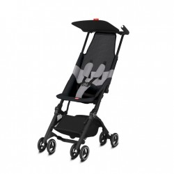 SILLA PASEO GB POCKIT+ BLACK ALL-TERRAIN