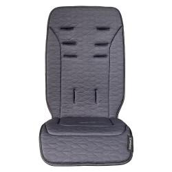 Colchoneta silla Uppababy Vista/Cruz reversible gris