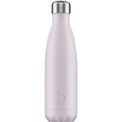 Botella termo Chilly's BLUSH LILA 500 ml.