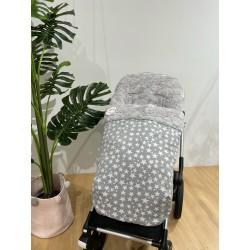 Saco silla Rapacinos Estrellas gris pelo