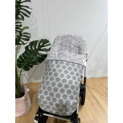 Saco silla Rapacinos Topos gris pelo