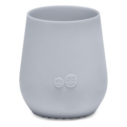 Vaso silicona Tiny Ezpz Gris claro