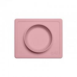 Bol Mini silicona Ezpz Rosa pálido
