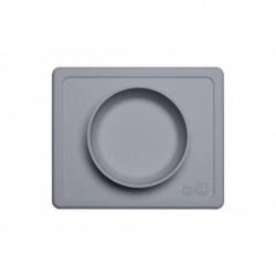 Bol Mini silicona Ezpz Gris oscuro