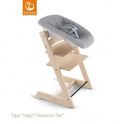 Newborn Set Tripp Trapp gris