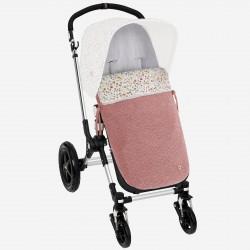 Saco silla Paz Rodriguez setas pelo rosa