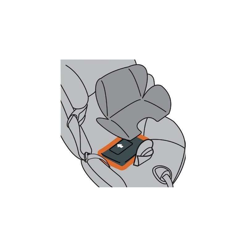 Cojin Reductor BeSafe para sillas grupo 0/1