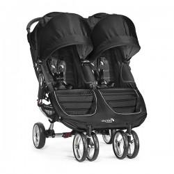 Baby Jogger City Mini Gemelar Negro