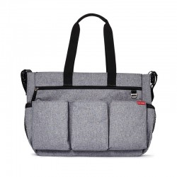 Bolso cochecito Gemelar Skip Hop Double Heather Grey