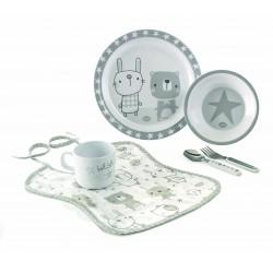 Set Vajilla Jané Star de 6 piezas con babero para microondas