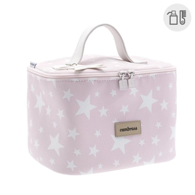 Bolso neceser Cambrass Mini Etoile rosa