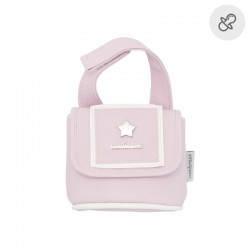 Portachupetes Cambrass Basic rosa