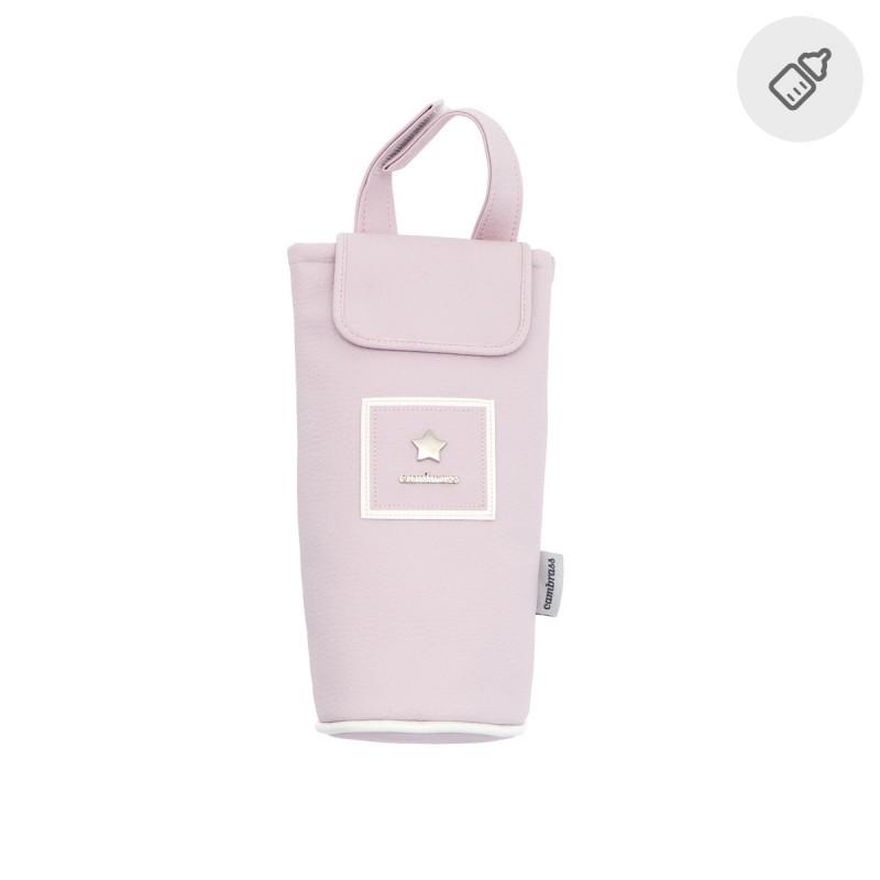 Portabiberón Cambrass Basic rosa