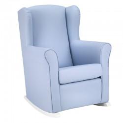 Sillon mecedora lactancia Cambrass Liso azul