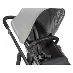 Funda piel barra silla Uppababy Vista/Cruz negra