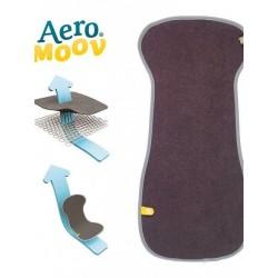 Funda protectora grupo 2/3 Aeromoov gris oscuro