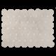 Alfombra Lorena Canals lavable Galleta crema 120x160