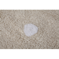 Alfombra Lorena Canals lavable Galleta crema 120x160