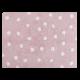 Alfombra Lorena Canals lavable Topos Rosa-blanco 120x160