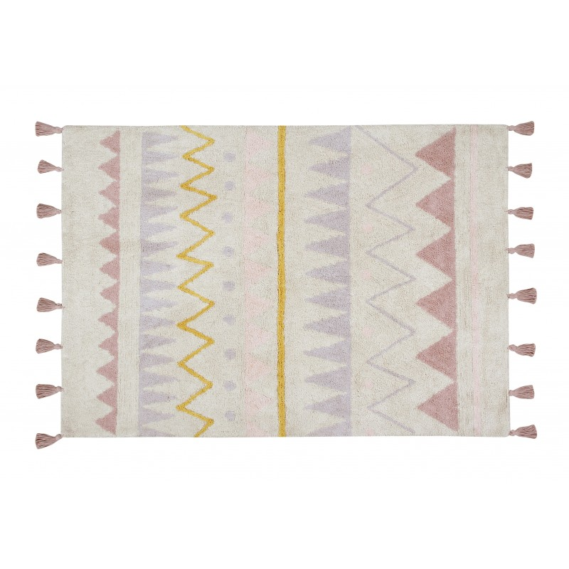 Alfombra Lorena Canals lavable Azteca natural-Vintage nude 140x200