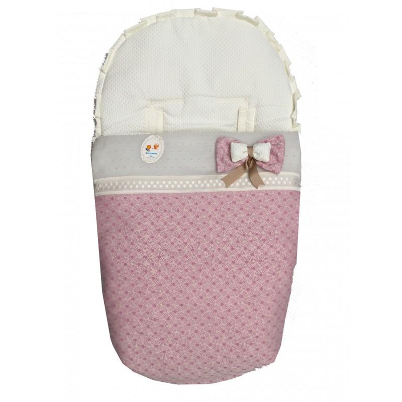 Saco de silla Universal invierno 1799 Agua rosa-beige