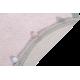 Alfombra Lorena Canals lavable Bubbly rosa claro 120